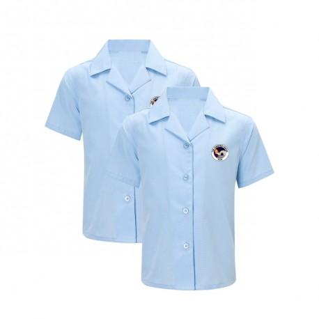 Girls short sleeve blouse