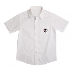 Secondary Boys  - white short sleeve